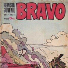 Tebeos: BRAVO - REVISTA JUVENIL- Nº 17 -AQUILES TALÓN-GALAX-MICHEL TANGUY-BLUEBERRY-1968-BUENO-LEAN-9524. Lote 136877410