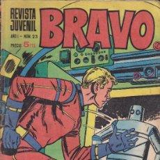 Tebeos: BRAVO - REVISTA JUVENIL- Nº 23 -AQUILES TALÓN-GALAX-MICHEL TANGUY-BLUEBERRY-1968-BUENO-LEAN-9525. Lote 136882686