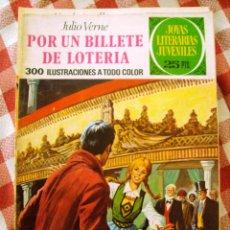 Tebeos: COMIC JOYAS LITERARIAS PTAS 25, VERNE POR UN BILLETE DE LOTERIA NUMERO 78. Lote 136891302