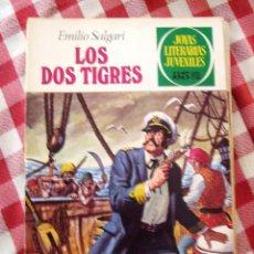 Tebeos: COMIC JOYAS LITERARIAS PTAS 35, EMILIO SALGARI LOS DOS TIGRES NUMERO 81. Lote 136892426