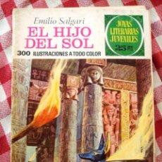 Tebeos: COMIC JOYAS LITERARIAS PTAS 25, EMILIO SALGARI EL HIJO DEL SOL, NUMERO 83. Lote 136893250