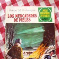 Tebeos: COMIC JOYAS LITERARIAS PTAS 35, BALLANTYNE LOS MERCADERES DE PIELES, NUMERO 86. Lote 136894534