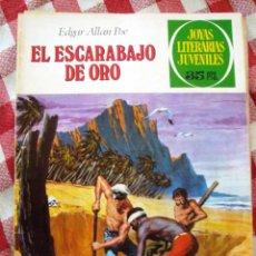Tebeos: COMIC JOYAS LITERARIAS PTAS 35, EDGAR ALLAN POE, ESCARABAJO DE ORO , NUMERO 88. Lote 136894646