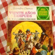 Tebeos: COMIC JOYAS LITERARIAS PTAS 25, ALEJANDRO DUMAS VEINTE AÑOS DESPUES NUMERO 97. Lote 136895738