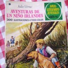 Tebeos: COMIC JOYAS LITERARIAS PTAS 30, JULIO VERNE AVENTURAS DE UN NIÑO IRLANDES, NUMERO 126. Lote 136896222