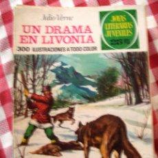 Tebeos: COMIC JOYAS LITERARIAS PTAS 25, VERNE, UN DRAMA EN LIVONIA NUMERO 161 AZUL. Lote 137104398