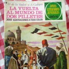 Tebeos: COMIC JOYAS LITERARIAS PTAS 30, GALOPIN & VAULZX, LA VUELTA AL MUNDO DE DOS NUMERO 164. Lote 137104418