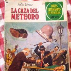 Tebeos: COMIC JOYAS LITERARIAS PTAS 30, VERNE LA CAZA DEL METEORO NUMERO 193 AZUL. Lote 137104434