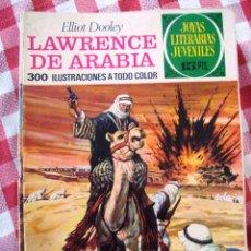 Tebeos: COMIC JOYAS LITERARIAS PTAS 15 DOOLEY LAWRANCE DE ARABIA NUMERO 44 AZUL. Lote 137104494