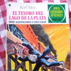 Tebeos: COMIC JOYAS LITERARIAS KARL MAY EL TESORO DEL LAGO NUMERO 55 AZUL, 30 PTAS. Lote 137104662