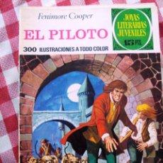 Tebeos: COMIC JOYAS LITERARIAS PTAS 15 COOPER, EL PILOTO NUMERO 57 AZUL. Lote 137104686