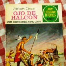 Tebeos: COMIC JOYAS LITERARIAS PTAS 15 COOPER OJO DE HALCON NUMERO 46 AZUL. Lote 137104970