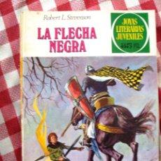 Tebeos: COMIC JOYAS LITERARIAS PTAS 35 STEVENSON LA FLECHA NEGRA NUMERO 48 ROSA. Lote 137104994