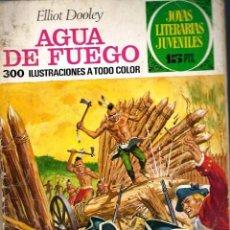 Tebeos: COMIC JOYAS LITERARIAS PTAS 15DOOLEY AGUA DE FUEGO NUMERO 51 AZUL. Lote 137105042