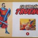 Tebeos: CAPITAN TRUENO / COLECCION DAN / TOMO Nº 1 EL PERIODICO. Lote 137188838