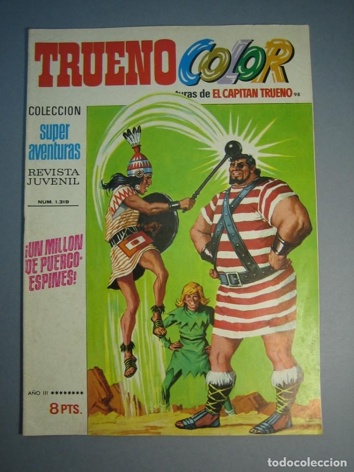 CAPITAN TRUENO, EL (1969, BRUGUERA) -TRUENO COLOR- 98 · 19-IV-1971 · UN MILLON DE PUERCOESPINES (Tebeos y Comics - Bruguera - Capitán Trueno)