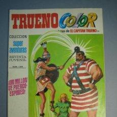 Tebeos: CAPITAN TRUENO, EL (1969, BRUGUERA) -TRUENO COLOR- 98 · 19-IV-1971 · UN MILLON DE PUERCOESPINES. Lote 137300402
