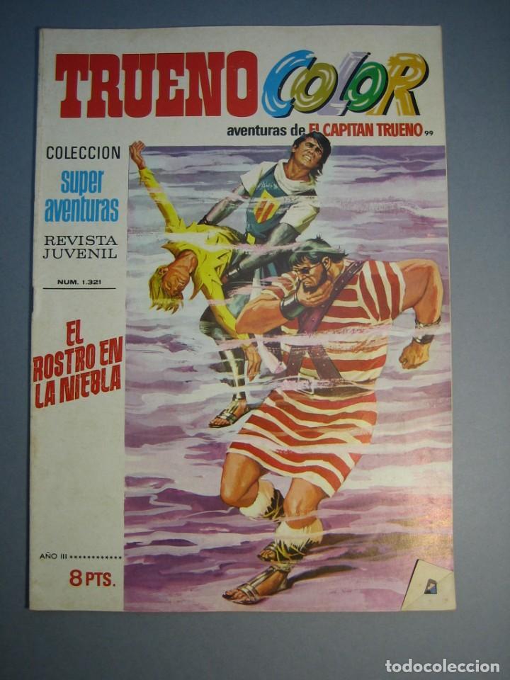 CAPITAN TRUENO, EL (1969, BRUGUERA) -TRUENO COLOR- 99 · 26-IV-1971 · EL ROSTRO EN LA NIEBLA (Tebeos y Comics - Bruguera - Capitán Trueno)