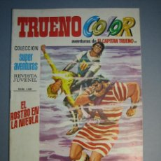 Tebeos: CAPITAN TRUENO, EL (1969, BRUGUERA) -TRUENO COLOR- 99 · 26-IV-1971 · EL ROSTRO EN LA NIEBLA. Lote 137300650