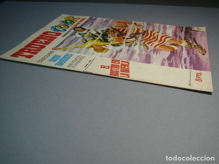 Tebeos: CAPITAN TRUENO, EL (1969, BRUGUERA) -TRUENO COLOR- 99 · 26-IV-1971 · EL ROSTRO EN LA NIEBLA - Foto 3 - 137300650