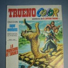 Tebeos: CAPITAN TRUENO, EL (1969, BRUGUERA) -TRUENO COLOR- 101 · 10-V-1971 · LA MANSION DE TANIKA. Lote 137300910