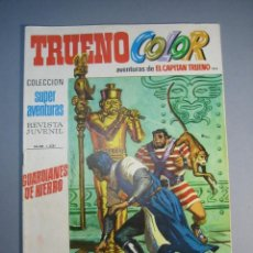 Tebeos: CAPITAN TRUENO, EL (1969, BRUGUERA) -TRUENO COLOR- 104 · 31-V-1971 · GUARDIANES DE HIERRO. Lote 137302450