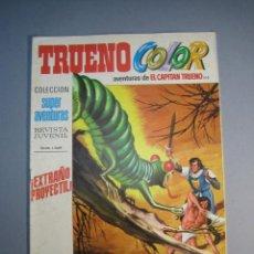 Tebeos: CAPITAN TRUENO, EL (1969, BRUGUERA) -TRUENO COLOR- 103 · 24-V-1971 · EXTRAÑO PROYECTIL. Lote 137302914