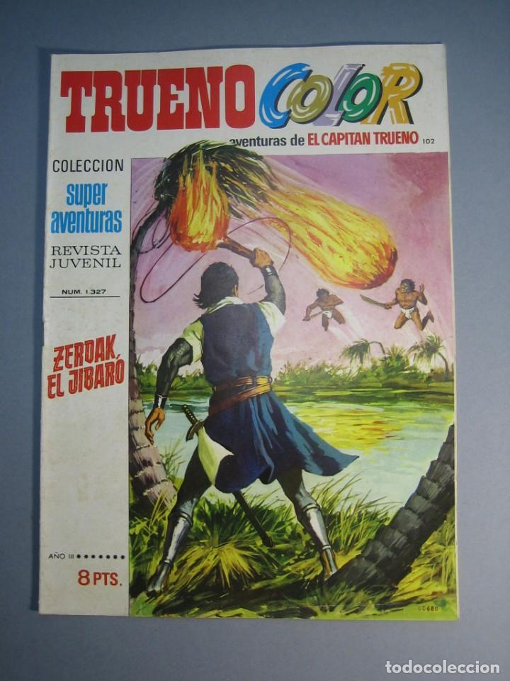 CAPITAN TRUENO, EL (1969, BRUGUERA) -TRUENO COLOR- 102 · 17-V-1971 · ZERDAK, EL JIBARO (Tebeos y Comics - Bruguera - Capitán Trueno)