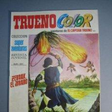 Tebeos: CAPITAN TRUENO, EL (1969, BRUGUERA) -TRUENO COLOR- 102 · 17-V-1971 · ZERDAK, EL JIBARO. Lote 137303114