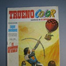 Tebeos: CAPITAN TRUENO, EL (1969, BRUGUERA) -TRUENO COLOR- 136 · 10-I-1972 · EL ASOMBRO DE KROLO. Lote 137303666