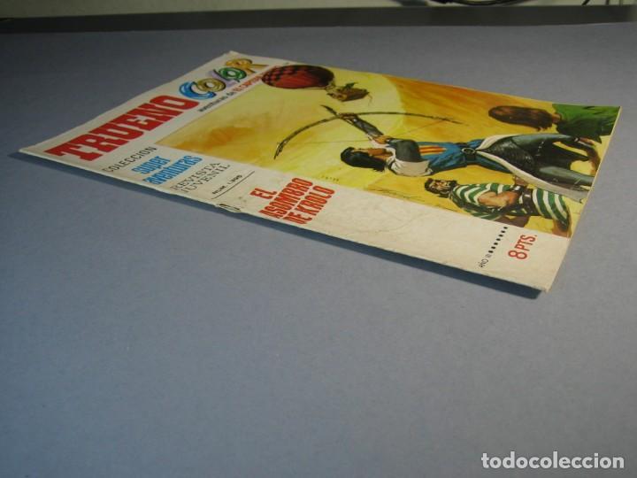 Tebeos: CAPITAN TRUENO, EL (1969, BRUGUERA) -TRUENO COLOR- 136 · 10-I-1972 · EL ASOMBRO DE KROLO - Foto 3 - 137303666