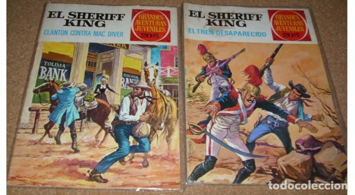 EL SHERIFF KING LOTE CON EL Nº 6 Y 14 DE 1975 - MUY BUEN ESTADO- LEER (Tebeos y Comics - Bruguera - Sheriff King)
