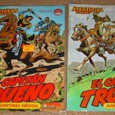 Tebeos: EL CAPITAN TRUENO AVENTURAS BIZARRAS Nº 6 CON EL POSTER DIFICIL Y Nº 8 TAMBIÉN CON POSTER LEER ENVIO. Lote 137359634