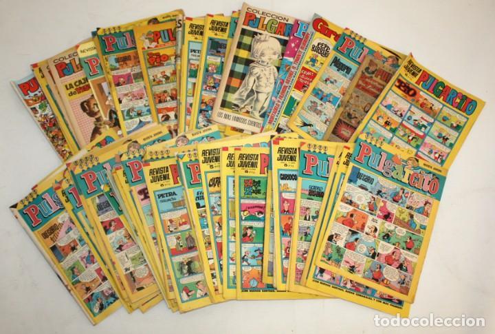 68 COMICS PULGARCITO:ALBUM INFANTIL 1 PESETA-REVISTA JUVENIL-COLECCIÓN PULGARCITO,ETC.. (Comics und Tebeos - Bruguera - Pulgarcito)