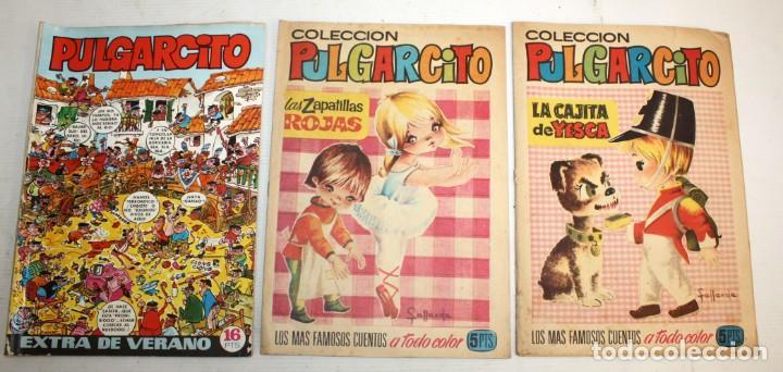 Tebeos: 68 COMICS PULGARCITO:ALBUM INFANTIL 1 PESETA-REVISTA JUVENIL-COLECCIÓN PULGARCITO,ETC.. - Foto 3 - 137393614