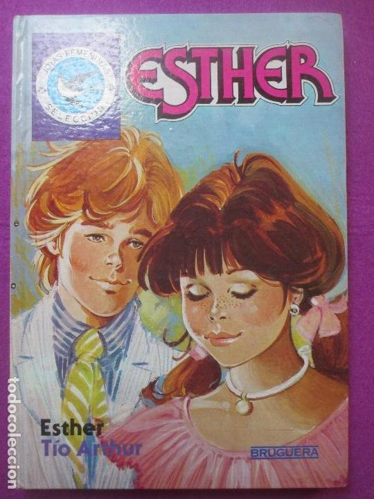 TEBEO ESTHER, JOYAS FEMENINAS, SELECCION, ESTHER TIO ARTHUR, BRUGUERA, (Tebeos y Comics - Bruguera - Esther)