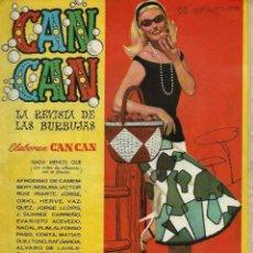 Tebeos: CAN CAN Nº 25 - BRUGUERA 1958 - EL DE LA FOTO. ALGO CASCADO. Lote 137462490