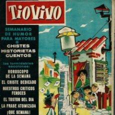 Tebeos: TIO VIVO TIOVIVO Nº 26 - CRISOL BRUGUERA 1957 - PORTADA DE CIFRE - EL DE LA FOTO. Lote 137462966