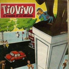 Tebeos: TIO VIVO TIOVIVO Nº 114 - CRISOL BRUGUERA 1958 - PORTADA DE NADAL - EL DE LA FOTO. Lote 137463038