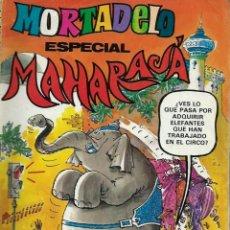 Tebeos: MORTADELO ESPECIAL Nº 116 - MAHARAJA - BRUGUERA 1981 - COMPLETO . Lote 137463142