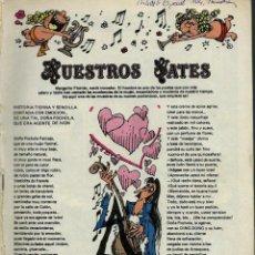 Tebeos: MORTADELO ESPECIAL Nº 104 - TROVADORES - BRUGUERA 1981 - INCOMPLETO, SIN CUBIERTAS. Lote 137463222