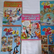 Tebeos: BRUGUERA Y EDICIONES B . LOTE 5 COMICS RISA LANDIA Y SUPER RISAS DE ORO.1982-1987. Lote 137465802