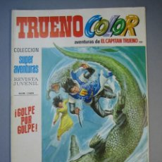 Tebeos: CAPITAN TRUENO, EL (1969, BRUGUERA) -TRUENO COLOR- 201 · 9-IV-1973 · GOLPE POR GOLPE. Lote 137578906