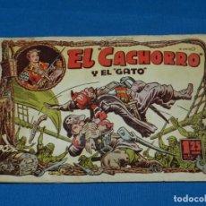 Tebeos: (M3) EL CACHORRO NUM 98 , EDT BRUGUERA , SEÑALES DE USO CON ROTURITAS. Lote 137606270