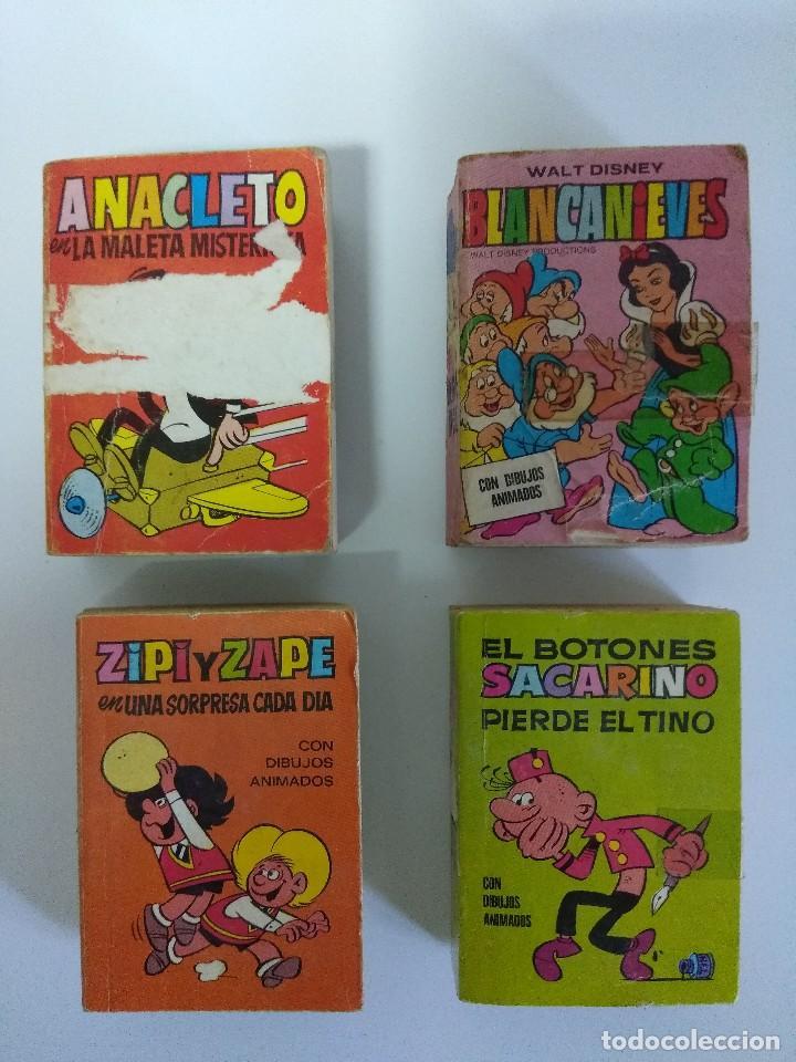 MINI INFANCIA/SACARINO-ZIPI /ZAPE-ANACLETO-BLANCANIEVES. (Tebeos y Comics - Bruguera - Otros)