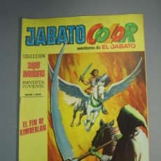 Tebeos: JABATO, EL (1974, BRUGUERA) -JABATO COLOR SEGUNDA EPOCA- 16 · 6-V-1974 · JABATO COLOR. Lote 137828710