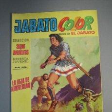 Tebeos: JABATO, EL (1974, BRUGUERA) -JABATO COLOR SEGUNDA EPOCA- 14 · 22-IV-1974 · LA HIJA DE KIMBERLAN. Lote 137829162