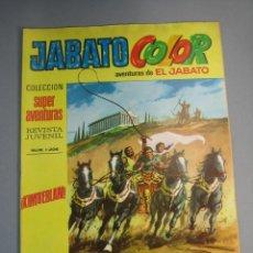 Tebeos: JABATO, EL (1974, BRUGUERA) -JABATO COLOR SEGUNDA EPOCA- 13 · 15-IV-1974 · JABATO COLOR. Lote 137830682
