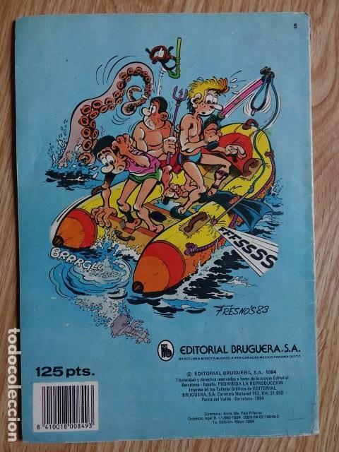 Tebeos: BENITO BONIATO DÍAS DE ASUETO OLE Nº 5 BRUGUERA 1984 1ª EDICIÓN VER FOTOS - Foto 2 - 137839410