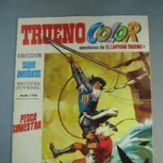 Tebeos: CAPITAN TRUENO, EL (1975, BRUGUERA) -TRUENO COLOR SEGUNDA EPOCA- 7 · 31-III-1975 · PESCA SINIESTRA. Lote 137870674
